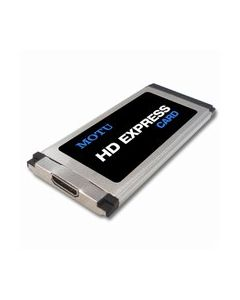 MOTU HDX-SDI mit ExpressCard34