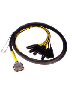 AVID ( Digidesign ) DB25-XLR M+F AES/EBU DigiSnake 4'