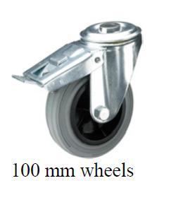 Towersonic CW/BK /100 Extra Heavy Duty Castors